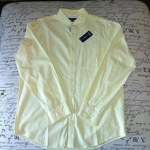 Yellow Club Room button down shirt.